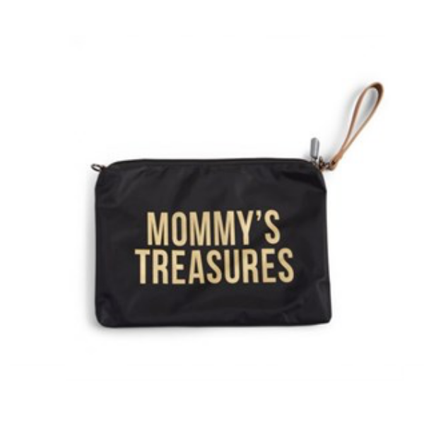Mommy Treasures - Clutch - Siyah/Gold